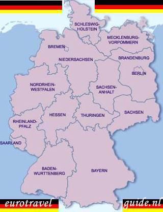 Rheinland Pfalz Duitsland Vakantie