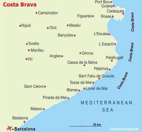 Palamos Aan De Costa Brava In Spanje